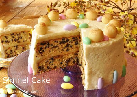 simnel cake recipe thebakingpancom
