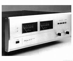 Accuphase P-400 - Manual - Stereo Power Amplifier