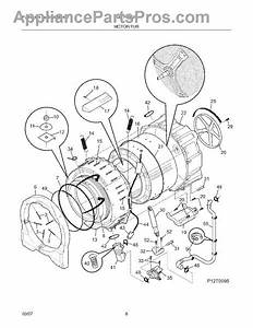 Parts For Frigidaire Gltf2940fs0  Motor    Tub Parts