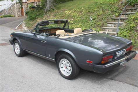 1982 Fiat Spider 2000 by 1982 Fiat 124 Spider 2000 For Sale On Bat Auctions Sold