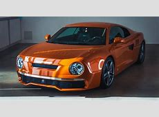 Audi R8 Coached into Modern Version of Classic Skoda 130
