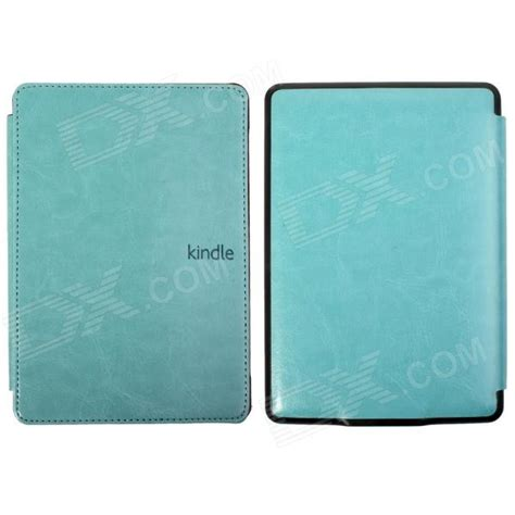 kindle blue light protective pu leather flip cover for kindle