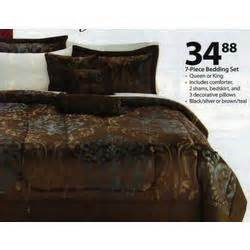 7 pc bedding set queen or king at walmart black friday 2010