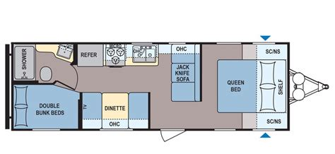 Coleman Travel Trailers Floor Plans by 2017 Coleman Coleman Cts274bh Cing World Of Asheville