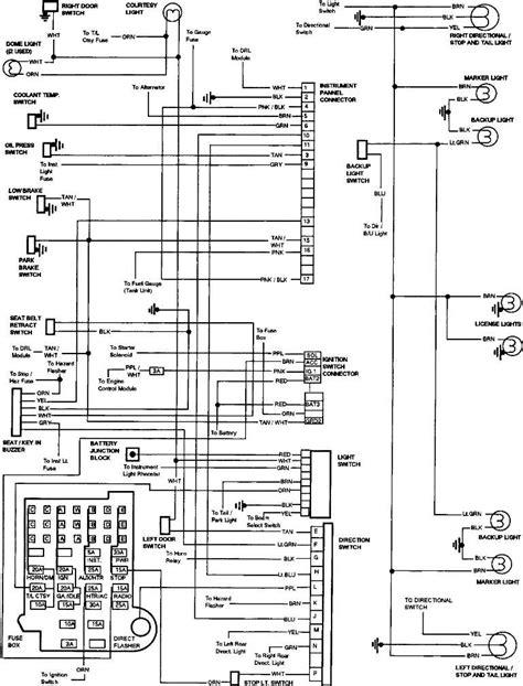 gmc truck wiring diagram car tuning
