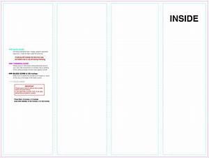 brochure 4 panel brochure template With 4 panel brochure template word