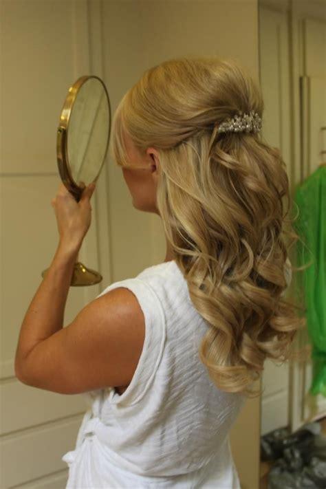 Half-Up Hairstyles for Medium Length Hair