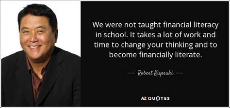 Top 23 Financial Literacy Quotes  Az Quotes