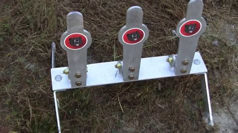 grizzly targets ar trifecta reactive target system youtube