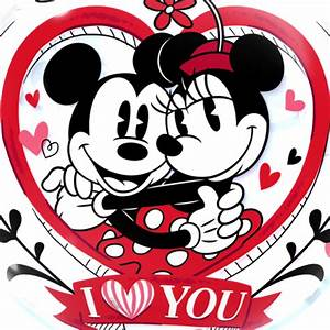 Mickey & Minnie Mouse Love Bubble Balloon | Free Delivery