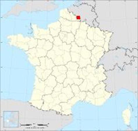 ou se trouve maubeuge carte de maubeuge situation g 233 ographique et population