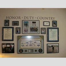 Honor Wall I Want To Do Something Like This With All Of