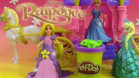 pate a modeler play doh princesse magiclip play doh p 226 te 224 modeler princesse raiponce carrosse royal rapunzel carriage