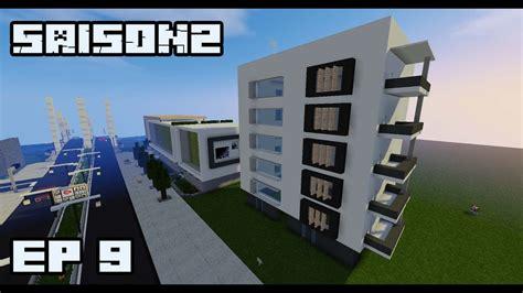 Ville Minecraft S2 Immeuble Moderne #9 Youtube