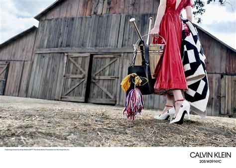 calvin klein wnyc spring  ad campaign tom lorenzo