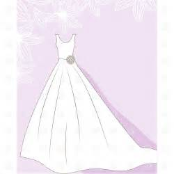 wedding dress clipart wedding dress on floral background 22011 fashion royalty free vector clip