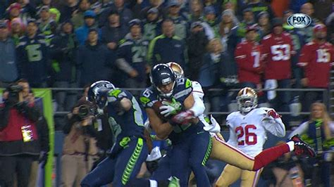 nfl nfc championship game ers  seahawks highlights