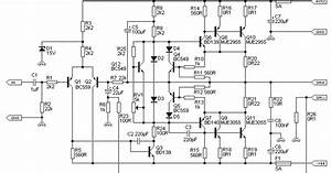 100w Guitar Amplifier Schematic