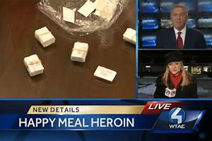 McDonald's Employee Arrested for Selling Heroin in Happy ...