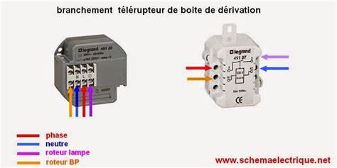 Schema Cablage Telerupteur Legrand 49120