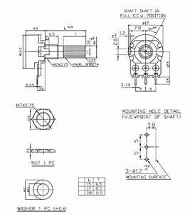 Alpha 16mm Short Split Shaft Potentiometers