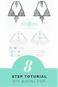 Free Bikini Triangle Top Pattern