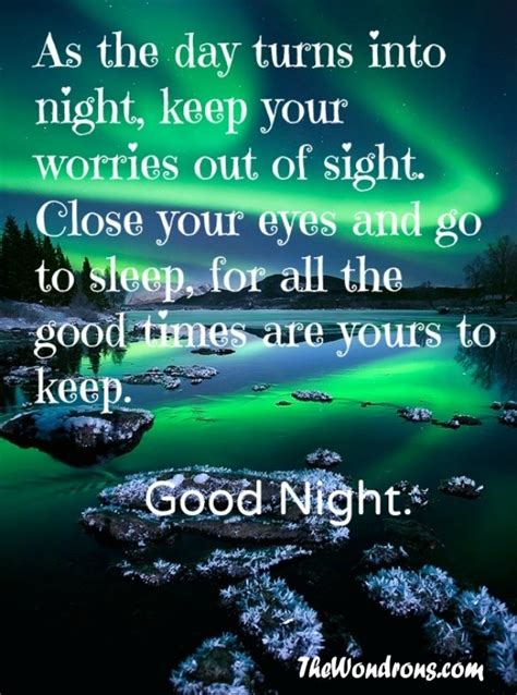good night quotes   time