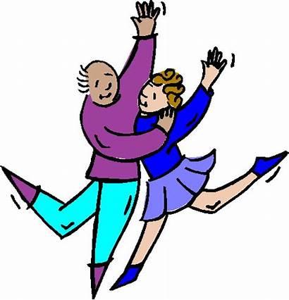 Dancing Clip Clipart Dance Dancers Cliparts Happy
