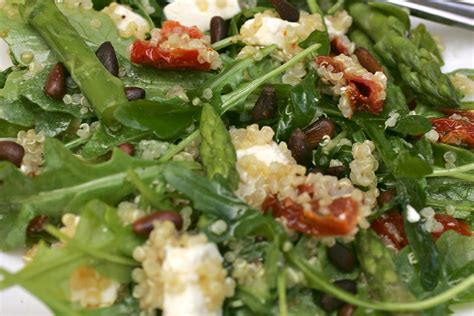 Cpk Style Quinoa Salad With Arugula With The Champagne