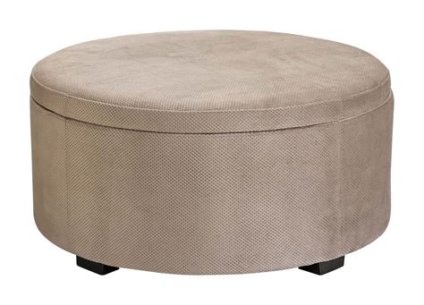 how to upholster an ottoman furniture brown round upholstered ottoman