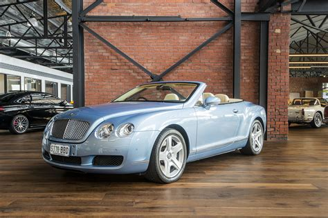 kelley blue book classic cars 2007 bentley continental gtc electronic valve timing 2007 bentley continental gtc richmonds classic and prestige cars storage and sales