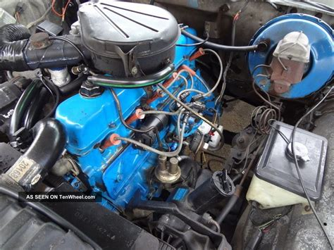 ford  custom   cylinder automatic power