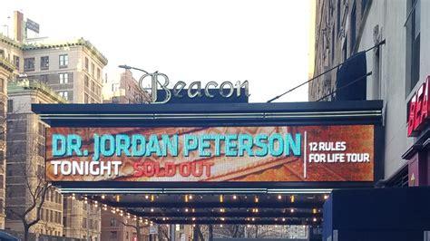 jordan peterson tour