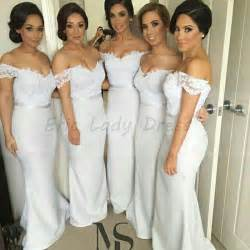 aliexpress buy mermaid bridesmaid dresses white v neck bridesmaid dress 2015 satin - Where To Find Bridesmaid Dresses
