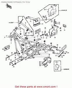 Kawasaki H1 500 Parts