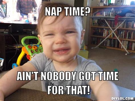 Nap Time Meme - why you suck at real time marketing dave marcello