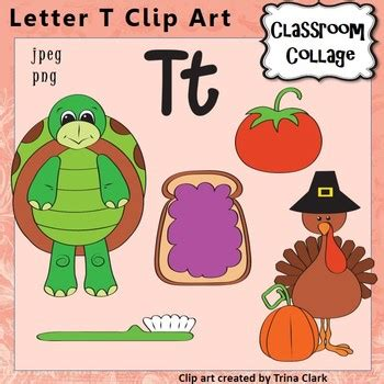 things that start with letter t with objects that alphabet clip letter t items start w t color 33428