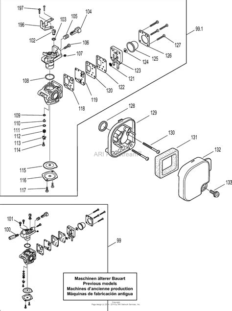 Two Cycle Carburetor Diagram by Tk Carb On Line Trimmer Can T Adjust Doityourself