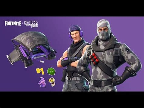 pakiet twitch prime za   skiny fortnite bez