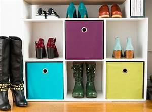 Petit Rangement Chaussures : rangement chaussures petit espace ~ Teatrodelosmanantiales.com Idées de Décoration