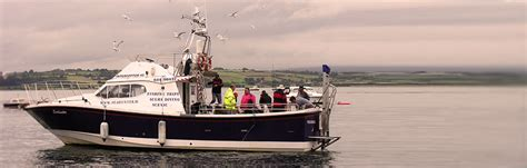 Boat Trip Youghal by Seahunter Charter Boat Fishing On Ireland S South Coast