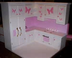 18 Inch Doll Kitchen Furniture Items Similar To Kitchen Made For American Size Doll Furniture Stove Refigerator Sink All