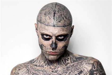 zombie boy est mort rick genest de son vrai nom sest suicide   ans