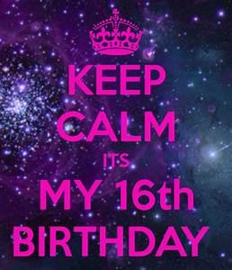 keep calm it's my birthday   Tumblr