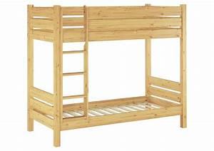 Erst Holz : etagenbett f r erwachsene kiefer massivholz 100x200 nische ~ A.2002-acura-tl-radio.info Haus und Dekorationen