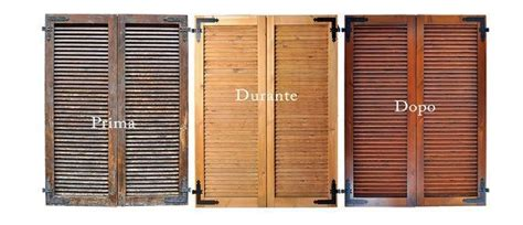 verniciatura persiane legno sabbiature verniciatura sverniciatura persiane