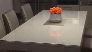 Plaque De Verre Pour Table : protection de verre pour votre table sur mesure commandes ~ Dailycaller-alerts.com Idées de Décoration
