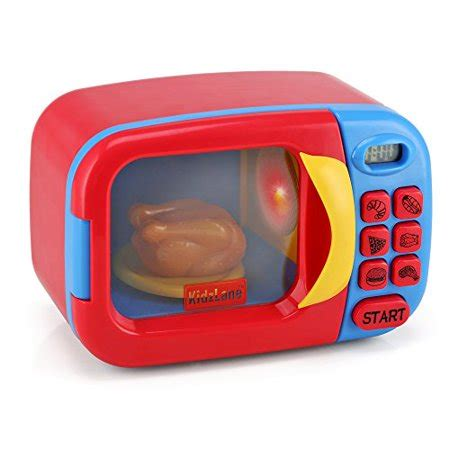 kitchen accessories toys kidzlane microwave oven for pretend play 2155