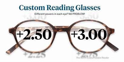 Glasses Reading Bifocals Readers Bifocal Custom Customizable