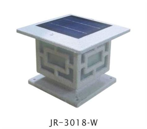 square shape solar deck post lights for fence outdoor
